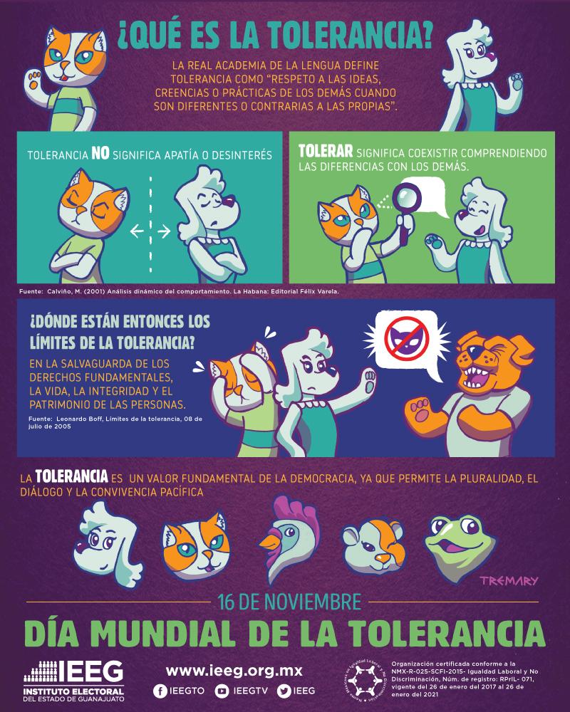 16 de noviembre Día mundial de la tolerancia