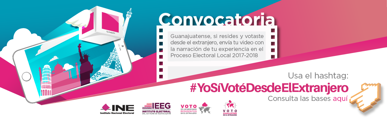 Convocatoria voto guanajuatense en el extranjero