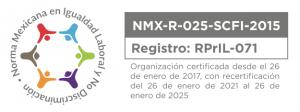 Organización certificada