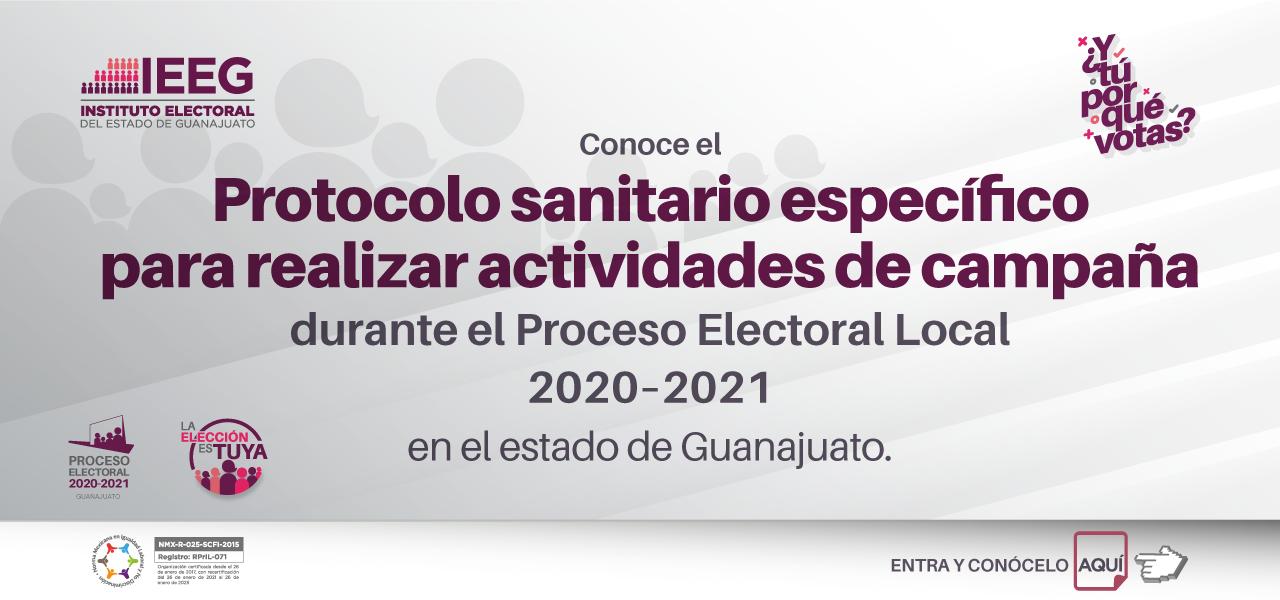 Protocolo especifico sanitario para campañas